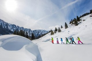 touring skiers and snowshoeing fans